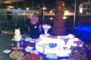 Fiestas con Glamour - Organización de eventos y fiestas privadas en madrid - Ideas originales para fiestas y eventos en Madrid - Fuente de Chocolate para fiestas eventos y bodas Madrid