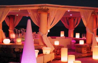 Fiestas con Glamour - Servicios -  Iluminación para fiestas y eventos en Madrid - Efectos Luminosos para fiestas y eventos en madrid