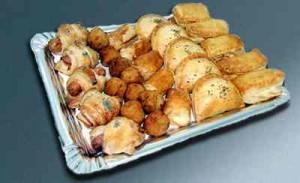 Fiestas con Glamour - Servicios de Catering - Bandejas amatista