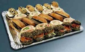 Fiestas con Glamour - Servicios de Catering - Bandejas diamante