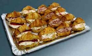 Fiestas con Glamour - Servicios de Catering - Bandejas esmeralda